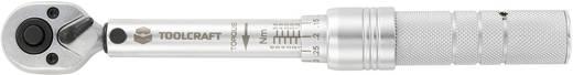 """TOOLCRAFT 819161 Drehmomentschlüssel mit Umschaltknarre 1/4"""" (6.3 mm) 1 - 6 Nm Kalibriert nach ISO"""