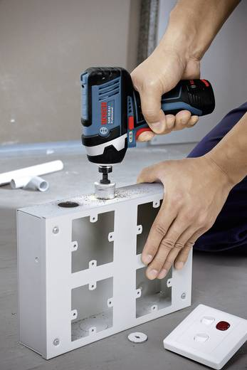 Bosch Professional GDR 10,8 V-LI Akku-Schlagschrauber 10.8 V 2 Ah Li-Ion inkl. 2. Akku