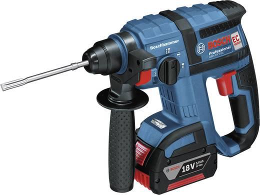 Bosch GBH 18 V-EC 18 V Akku-Bohrhammer + 2 Akku 4,0 Ah 1,7 J 0611904004
