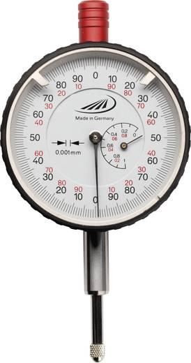 Messuhr 1 mm Helios Preisser 0705107 Ablesung: 0.001 mm Kalibriert nach ISO
