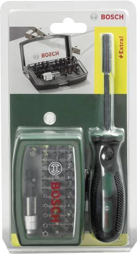 Bit-Set 32teilig Bosch Accessories Promoline 2607017189 Schlitz, Kreuzschlitz Phillips, Kreuzschlitz Pozidriv, Innen-Sec