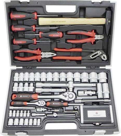 TOOLCRAFT HT03408 819444 Profi Werkzeugset im Koffer 109teilig