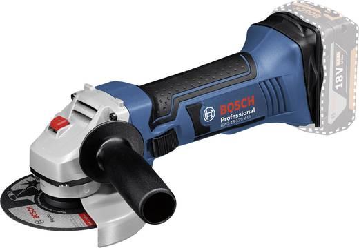 Akku-Winkelschleifer 125 mm inkl. 2. Akku, inkl. Koffer 18 V 4 Ah Bosch Professional GWS 18-125 V-LI 060193A30B