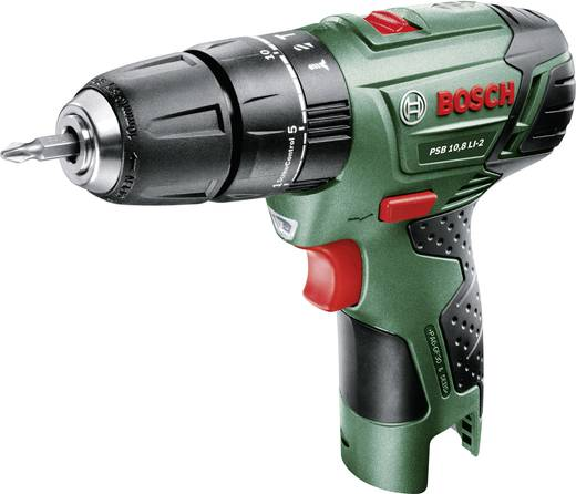 Bosch Home and Garden PSB 10,8 LI-2 Akku-Schlagbohrschrauber 10.8 V Li-Ion ohne Akku