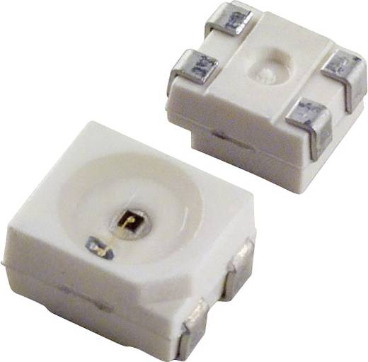 SMD-LED PLCC4 Gelb 877.5 mcd 120 ° 50 mA 2.2 V OSRAM LY E67B-T2AA-26-1-Z