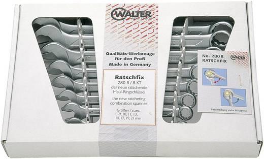 Ring-Maulschlüssel-Satz 8teilig 9 - 21 mm Walter Werkzeuge 2750083120