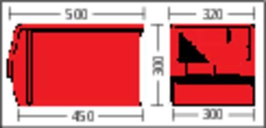 Sichtlagerkasten (B x H x T) 312 x 300 x 500 mm Rot LF533 GZW 1 St.