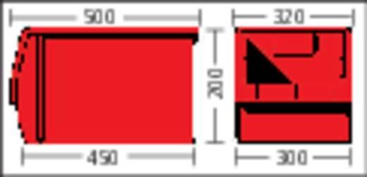 Sichtlagerkasten (B x H x T) 312 x 200 x 500 mm Rot LF532 GZW 1 St.