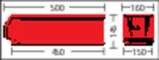 Sichtlagerkasten (B x H x T) 156 x 143 x 500 mm Rot LF511 GZW 1 St.