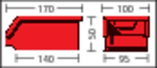 Sichtlagerkasten (B x H x T) 103 x 52 x 168 mm Blau LF210 ZW 1 St.
