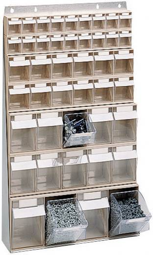 Klarsichtmagazin (B x H x T) 600 x 960 x 185 mm Grau, Transparent MultiStore 1 St.