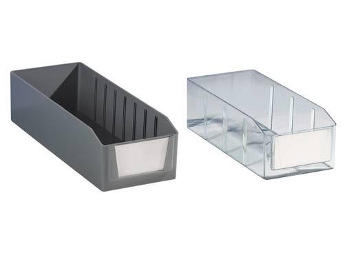 Schublade für Schubladensystem (B x H x T) 132 x 100 x 400 mm Transparent 4015 1 St.