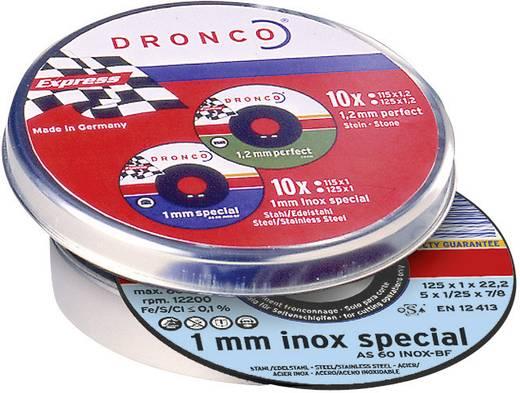 Trennscheiben-Set 10tlg. AS60T INOX Dronco 6900935-100 Durchmesser 115 mm 10 St.