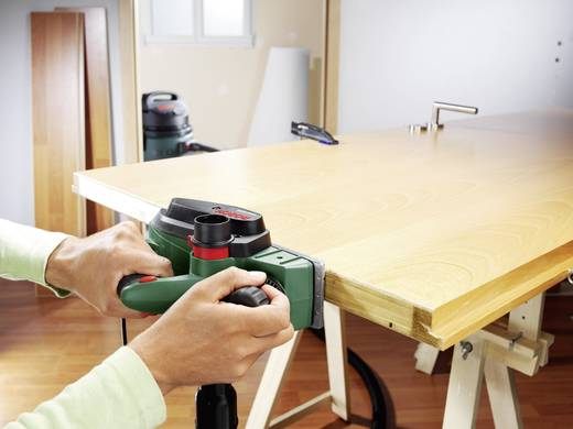 Elektrohobel inkl. Koffer Hobel-Breite: 82 mm 750 W Bosch Home and Garden PHO 3100 Falztiefe (max.): 9 mm
