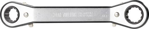 Doppel-Ratschenringschlüssel-Satz TOOLCRAFT 814005, 6 - 19 mm, N/A, 7teilig