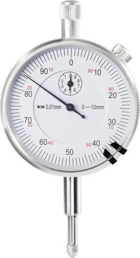 Messuhr 10 mm TOOLCRAFT 821008 Ablesung: 0.01 mm Kalibriert nach DAkkS