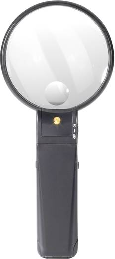 Standlupe Vergrößerungsfaktor: 2 x, 4 x Linsengröße: (Ø) 88 mm TOOLCRAFT 821010