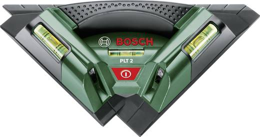 Bosch Home and Garden PLT 2 Fliesenlaser Reichweite (max.): 7 m Kalibriert nach: Werksstandard (ohne Zertifikat)