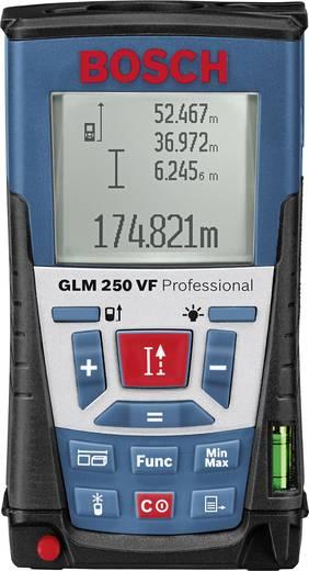 """Bosch Professional GLM 250 VF Laser-Entfernungsmesser Stativadapter 6.3 mm (1/4"""") Messbereich (max.) 250 m Kalibriert na"""