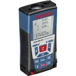Laserový diaľkomer Bosch Professional GLM 250 VF 0601072100, max. rozsah 250 m, kalibrácia podľa ISO