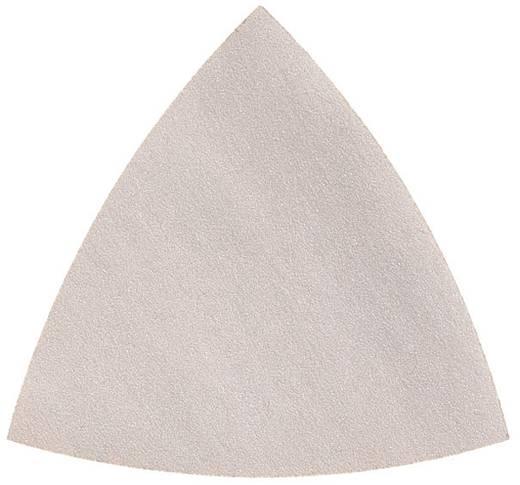 Deltaschleifpapier ungelocht Körnung 240 Eckmaß 80 mm Fein 63717126015 50 St.