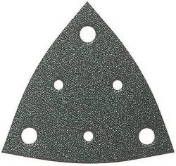 Brúsny papier pre delta brúsky Fein 63717107049 na suchý zips, s otvormi, zrnitosť 36, 5 ks