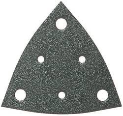 Feuille abrasive Delta avec bande auto-agrippante, perforé Fein 63717116016 Grain 240 Cote d'encoignure 80 mm 50 pc(s)