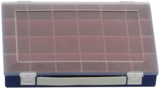Sortimentskoffer (L x B x H) 332 x 232 x 55 mm Alutec Anzahl Fächer: 24 variable Unterteilung