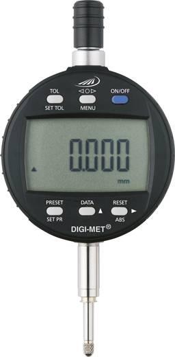 Messuhr Kalibriert nach ISO mit digitaler Anzeige 12.5 mm Helios Preisser 1726 502 Ablesung: 0.001 mm