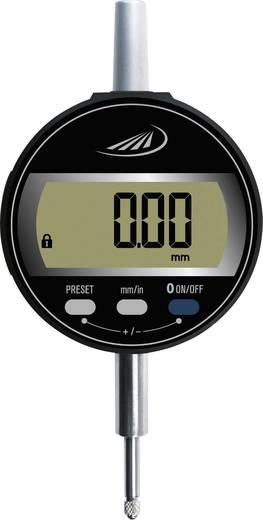 Messuhr Kalibriert nach ISO mit digitaler Anzeige 12.5 mm Helios Preisser 1722 502 Ablesung: 0.01 mm
