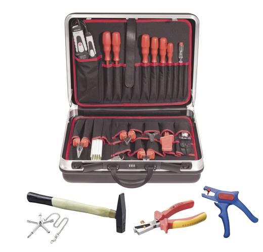 TOOLCRAFT 821611 Elektriker Werkzeugkoffer bestückt 21teilig (L x B x H) 490 x 420 x 185 mm