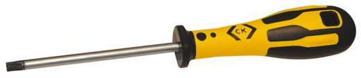 Werkstatt Torx-Schraubendreher C.K. Dextro Größe T 15 Klingenlänge: 80 mm