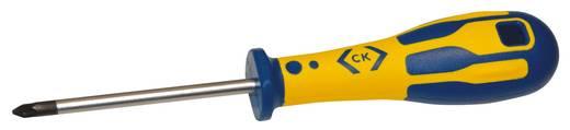 Werkstatt Kreuzschlitz-Schraubendreher C.K. PZ 1 Klingenlänge: 80 mm DIN ISO 8765