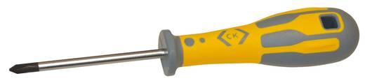 Werkstatt Kreuzschlitz-Schraubendreher C.K. Dextro PH 3 Klingenlänge: 150 mm DIN ISO 8764