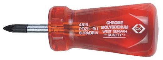 Werkstatt Kreuzschlitz-Schraubendreher C.K. PZ 1 Klingenlänge: 25 mm DIN ISO 8764