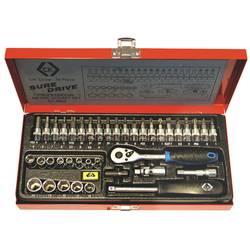 """Súprava nástrčných kľúčov C.K. T4655, 1/4"""" (6,3 mm), 39dílná"""