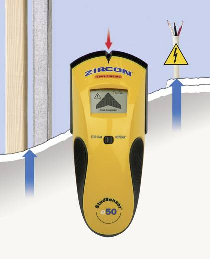 Ortungsgerät Zircon StudSensor E50 63976 Ortungstiefe (max.) 51 mm Geeignet für Holz, eisenhaltiges Metall, nicht eisen