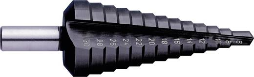 HSS Stufenbohrer 4 - 12 mm TiAIN Exact 50061 Gesamtlänge 80 mm 3-Flächenschaft 1 St.