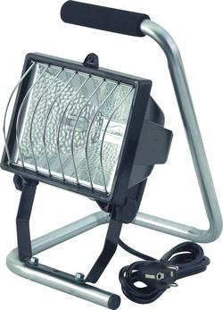 Přenosný halogenový reflektor Brennenstuhl, R7s, 500 W, IP44, vč. žárovky, černá