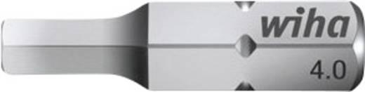 Sechskant-Bit 4 mm Wiha Chrom-Vanadium Stahl gehärtet C 6.3 1 St.