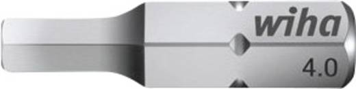 Sechskant-Bit 6 mm Wiha Chrom-Vanadium Stahl gehärtet C 6.3 1 St.