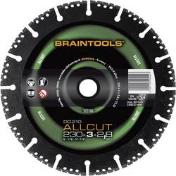 Diamantový rezací kotúč DG210 ALLCUT Braintools Rhodius 303388 Priemer 125 mm Vnútorný priemer 22.23 mm