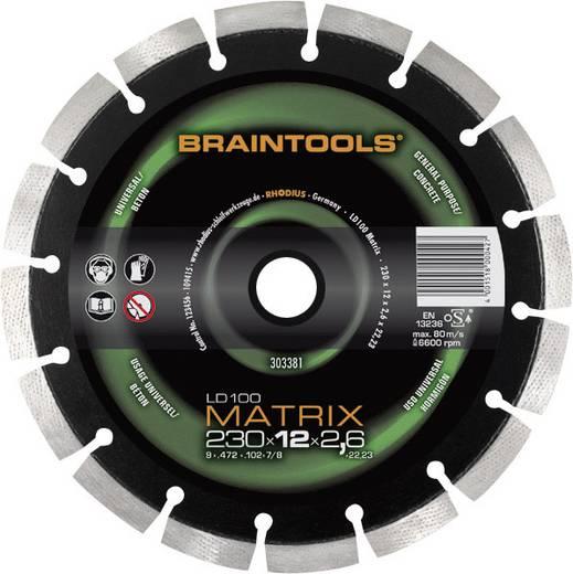 Diamant-Trennscheibe LD100 Matrix Braintools Rhodius 303379 Durchmesser 125 mm Innen-Ø 22.23 mm
