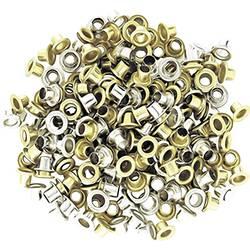 Poniklované ocelové kroužky NWS 4,5 mm, balení 100 ks