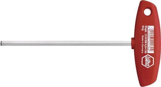 Werkstatt Innen-Sechskantschraubendreher Wiha Classic T-handle 334R Schlüsselweite (Metrisch): 3 mm Klingenlänge: 100 m