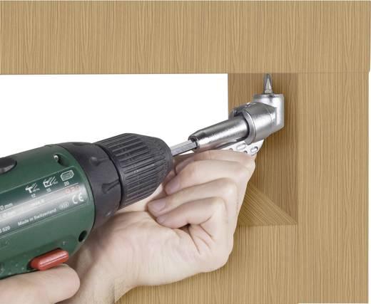 """Basetech 824065 Winkelschraubervorsatz Länge 135 mm Antrieb 1/4"""" (6.3 mm)"""