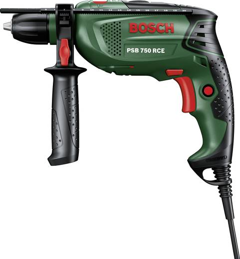 Bosch Home and Garden PSB 750 RCE 1-Gang-Schlagbohrmaschine 750 W inkl. Koffer