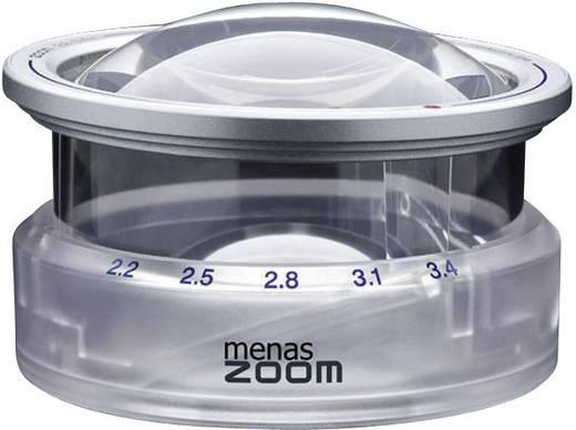Handlupe Vergrößerungsfaktor: 3.4 x Linsengröße: (Ø) 65 mm Eschenbach MENAS ZOOM