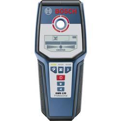 Detektor dreva, železných kovov, neželezných kovov, káble vedúce napätie Bosch Professional GMS 120 Detekčná hĺbka (max.) 120 mm 0601081000