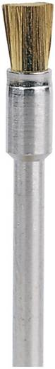 Dremel Messingbürste 3,2 mm Dremel 537 Ø 3.2 mm Schaft-Ø 3,2 mm 26150537JA 3 St.